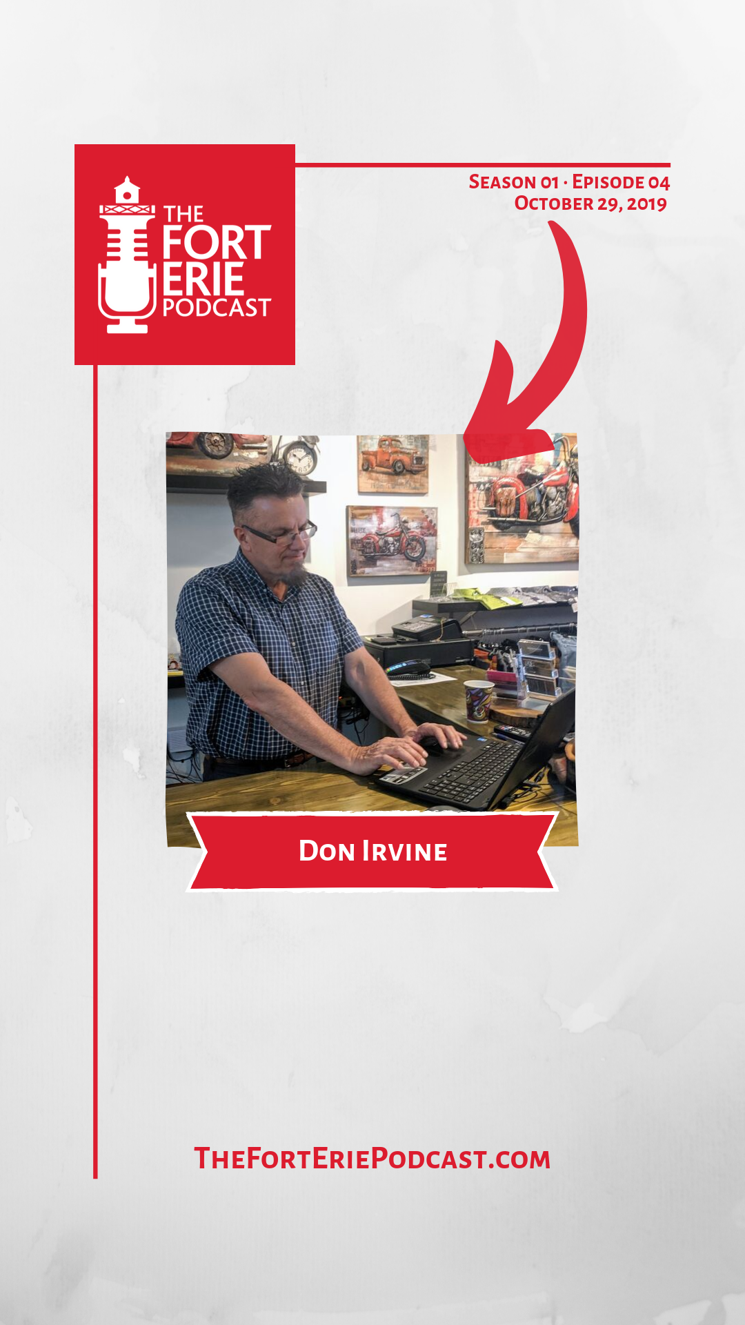 S01E04 – Don Irvine – Owner, The Lonely Guy Boutique