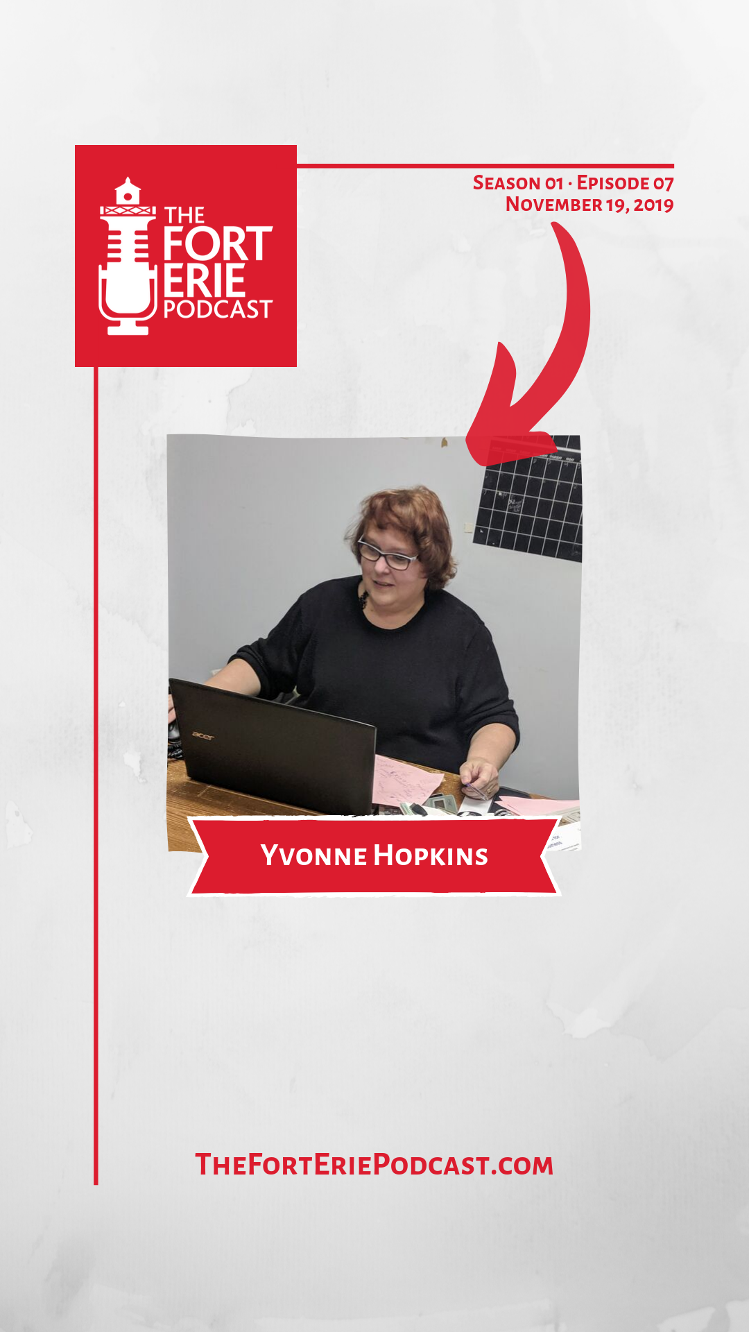S01E07 – Yvonne Hopkins – Manager, Fort Erie Festivals