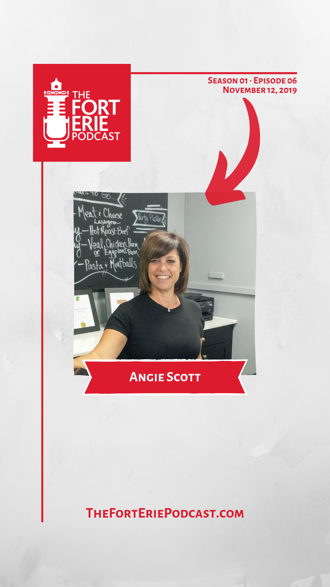 In case you aren\'t familiar, Angie Scott is the owner and operator of Creative Dining by Angie. Born and raised in Fort Erie, and a proud member of the Fort Erie Chamber of Commerce, Angie shares with me in episode six of The Fort Erie Podcast her journey to running a small business (and feeding a small army) in a small town.