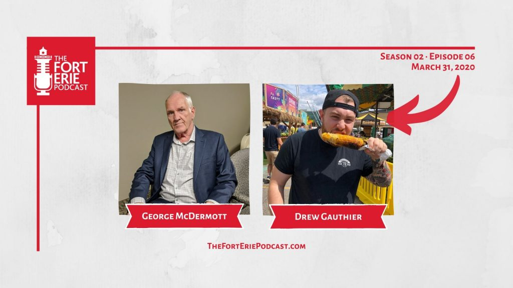 S02E06 – George McDermott, Councillor, Ward 1 – Drew Gauthier, A Podcast with Goat