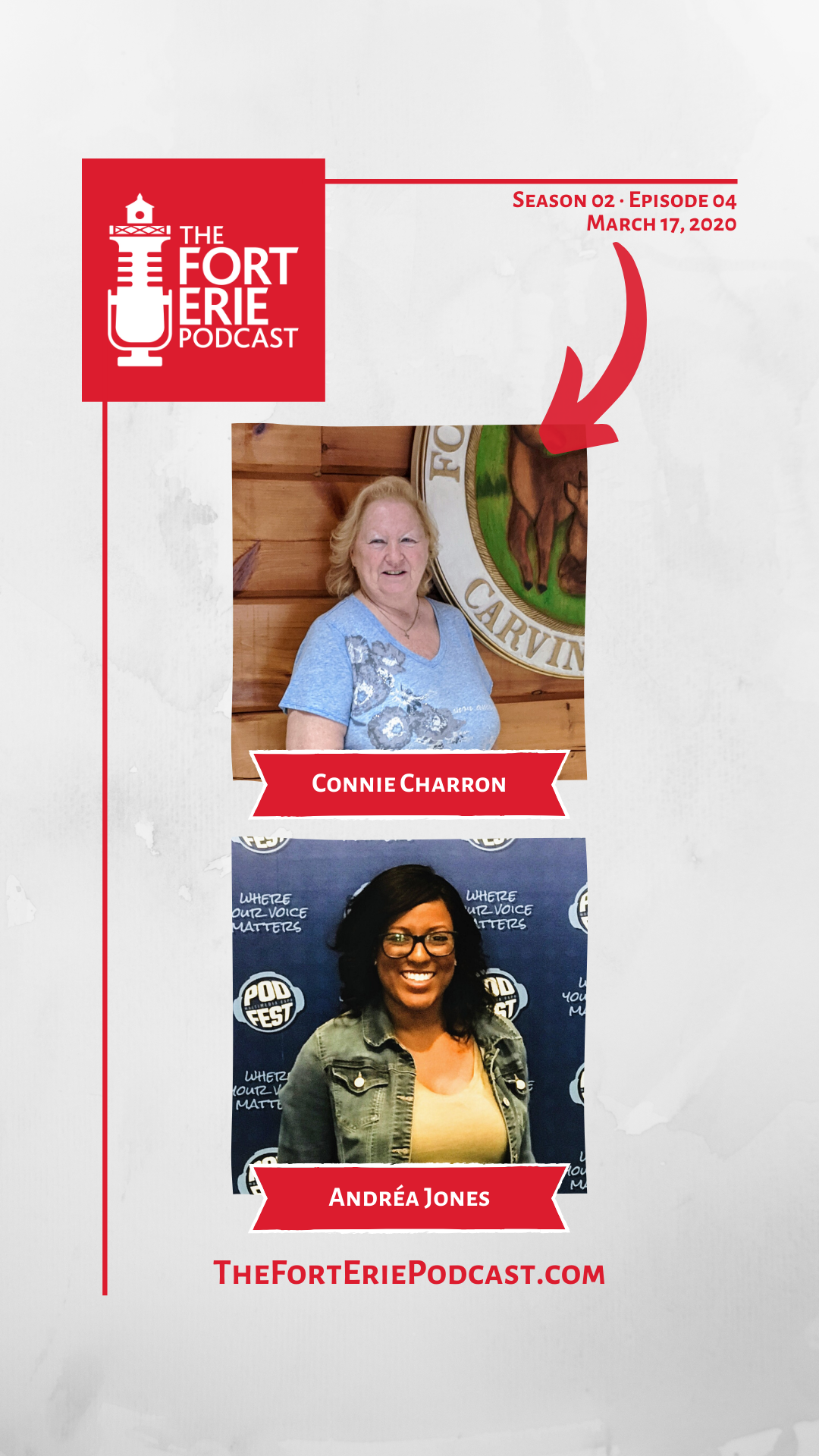 S02E04 – Connie Charron, Fort Erie Conservation Club – Andréa Jones, Savvy Social Podcast