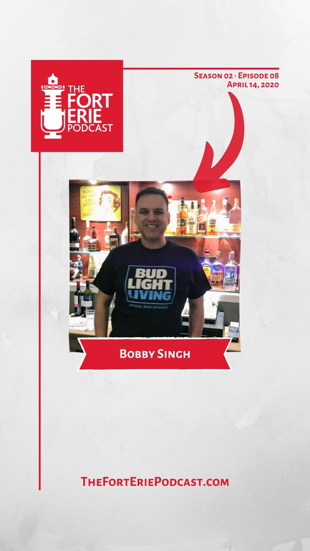 S02E08 – Bobby Singh, Garrison Club