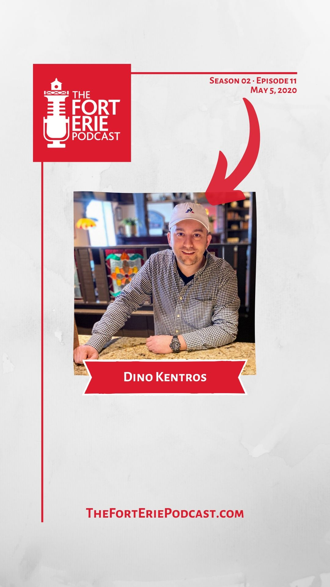 S02E11 – Dino Kentros, The Barrel Restaurant – $50 Gift Card Giveaway