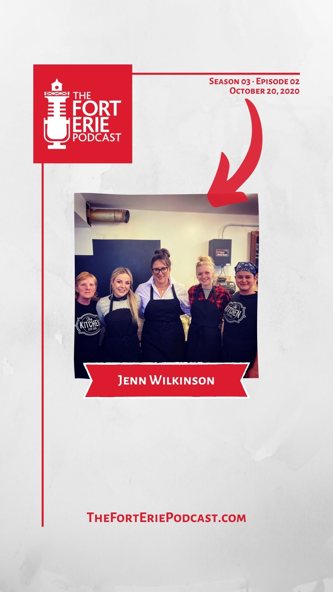 S03E02 – Jenn Wilkinson, 335 on the Ridge